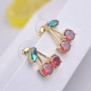 Kate Spade Color Zircon Cherry Earring